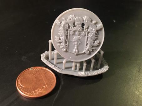 Stemmi araldici in stampa 3D?
