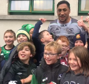 The Connacht Rugby Game By Robbie