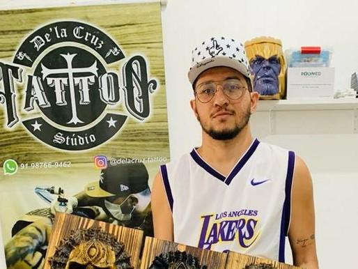 Barcarenense é premiado em concurso de tatuagem no Espírito Santo