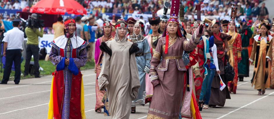 A origem do Festival Naadam
