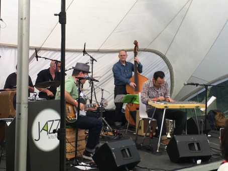 Steeler's trio live at Blues kitchen