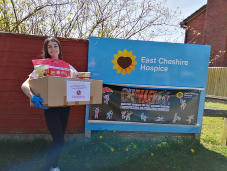 All Hallows Sixth Form Student Student Shows Compassion and Stewardship in Supporting Local Hospice