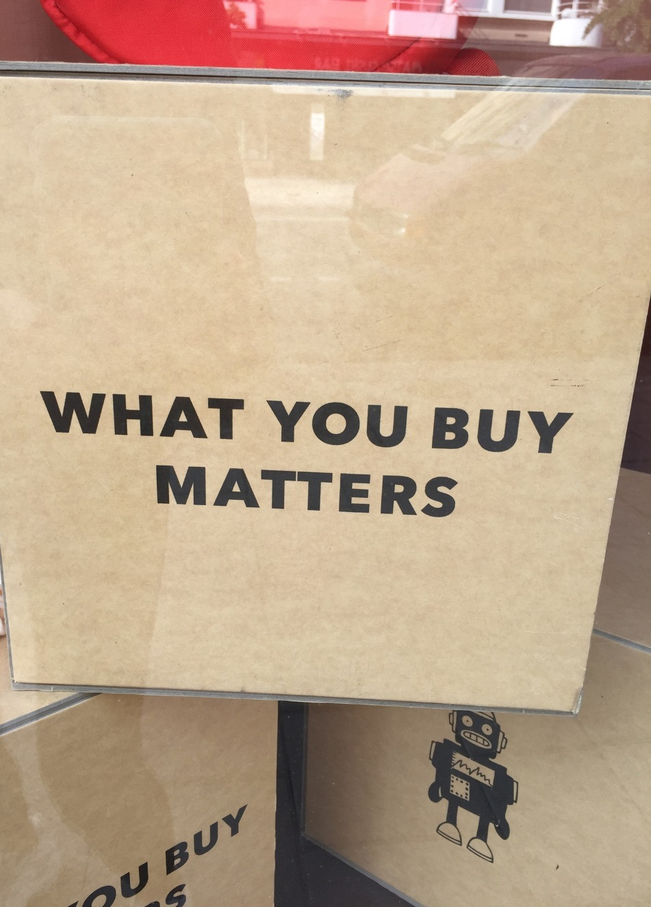 What you buy matters.