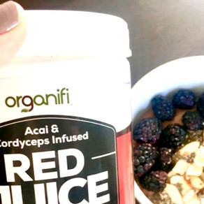 Red Juice Yum Protein Bowl