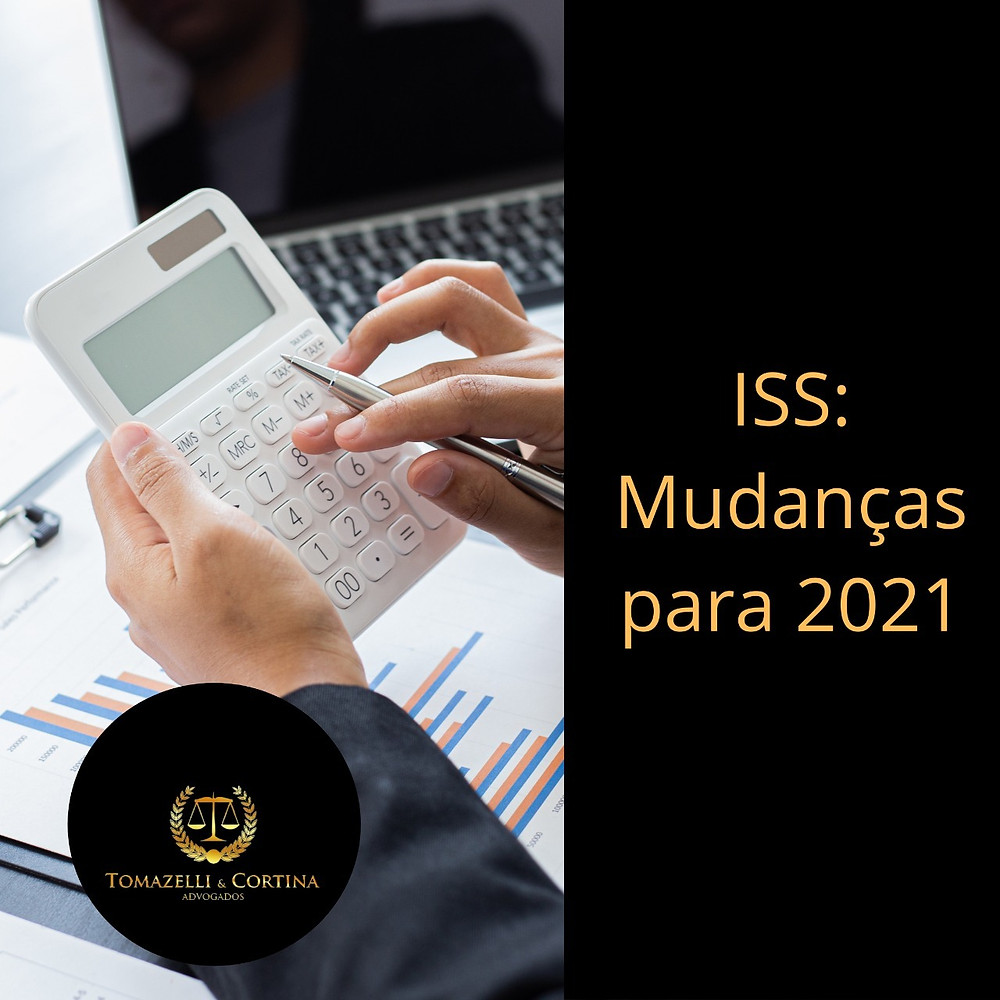 ISS Mudanças para 2021