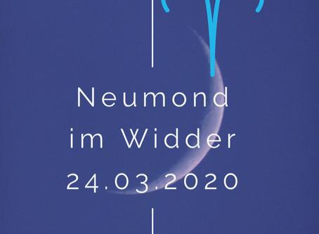 """In der """"Ruhe"""" liegt die Kraft....Neumond im Widder 24.03.2020"""