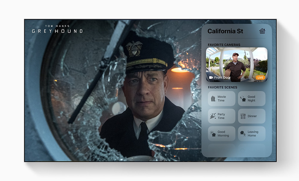 HomeKit-enabled video doorbells and accessories come to the Home app with tvOS 14 in the fall.