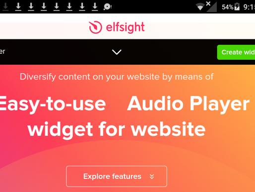 Create Covid-19 LIVE Widget Create Audio Player Widgets