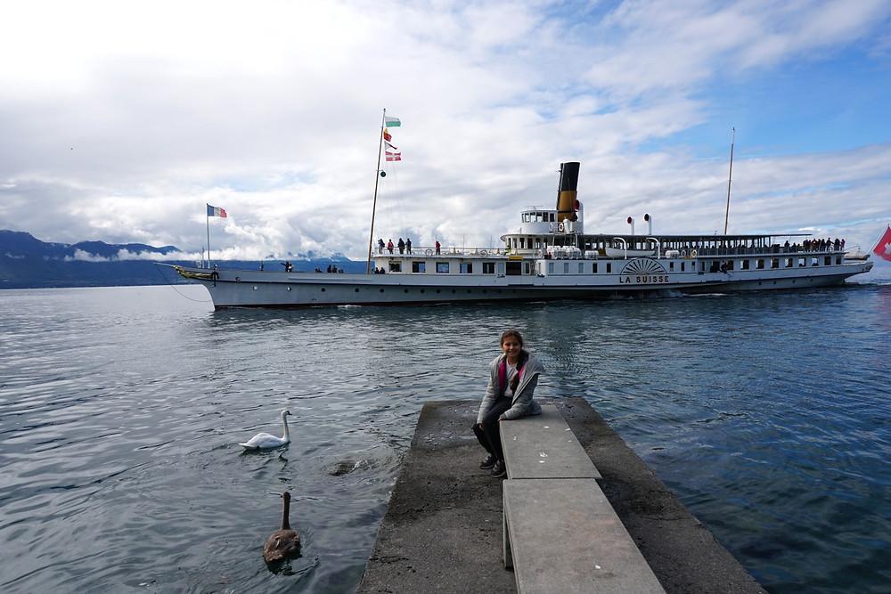 אגם ג'נבה שווייץ