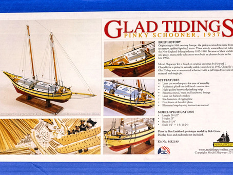 Model Shipways - Pinky schooner GLAD TIDINGS (1937) - Part_1 [Корпус/Hull]