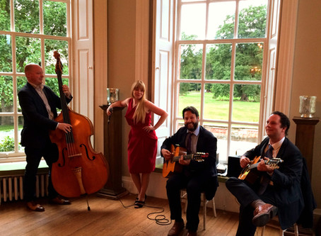 Wedding Music Hire In London | Jonny Hepbir Gypsy Jazz Quartet Play At Kool & The Gang Wedding