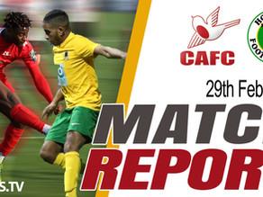 Match Report - Horsham