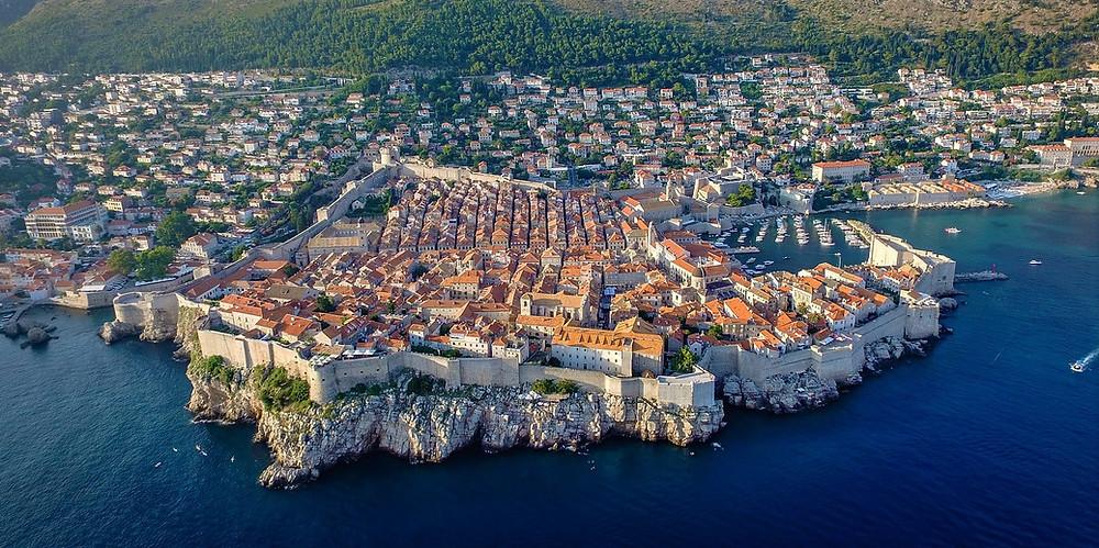 Muralhas de Dubrovnik - pontos turísticos da Croácia