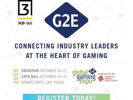 G2E 2019 in Las Vegas!