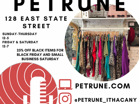 Petrune and Easy Living Hats Prepare for Small Business Saturday
