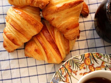 Les Croissants, prêt pour le petit déjeuner !