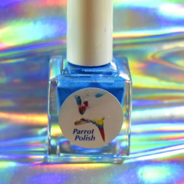 Parrot Polish Baboon Blue