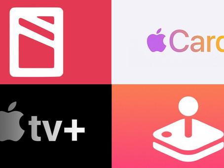Novos serviços da Apple começam lentamente no primeiro ano de vida