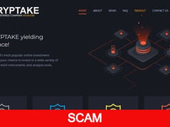 Cryptake.cc Review (SCAM): New Hyip Up To 3% Hourly