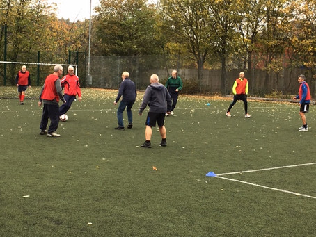 Our 1st Walking Football Session!