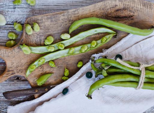 Opskrift på grøn dip med ærter og hvide bønner
