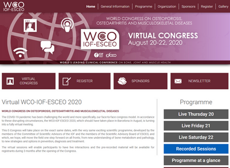 World Congress on Osteoporosis 20.-22.8.2020
