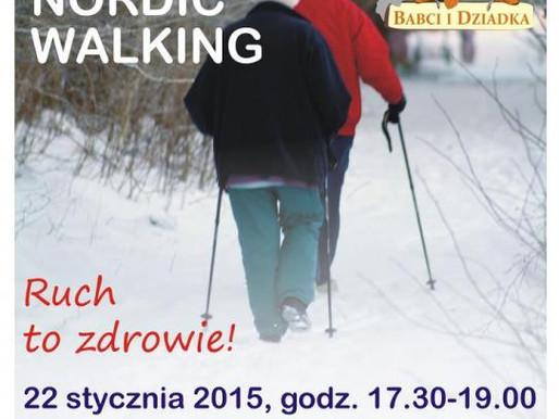 Trening Nordic Walking dla Babci i Dziadka - 22.01.2015