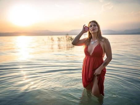 Book Fotografico tra spiagge e uliveti a Sirmione, Lago di Garda
