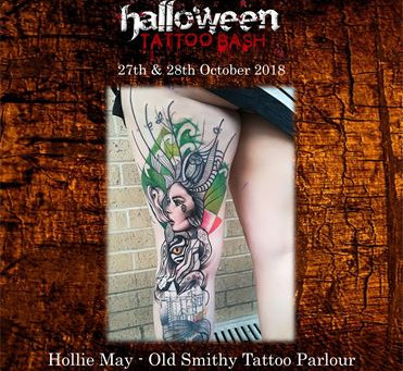 Halloween Tattoo Bash Oct 27th & 28th