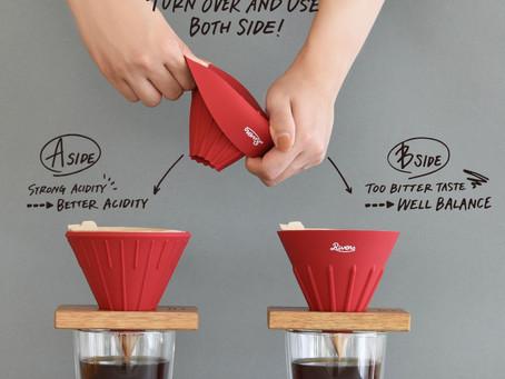日本最新開發!一個濾杯兩種用法!