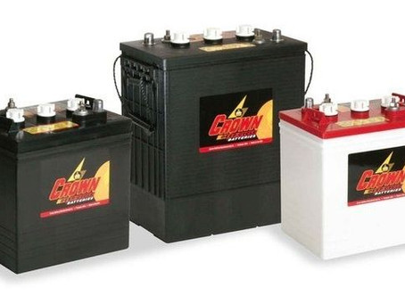 American Made Crown Golf Cart Batteries