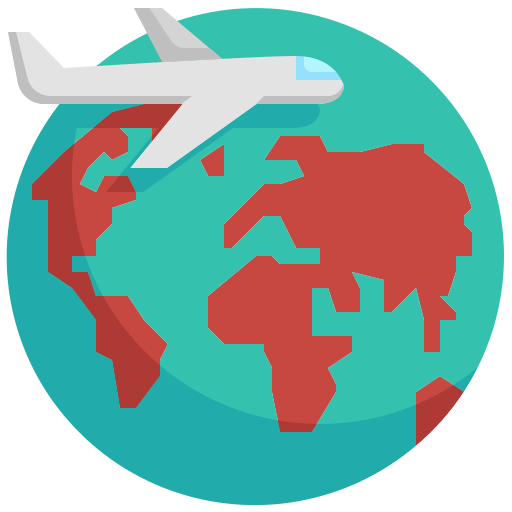 5929224 - airplane earth global globe trave vacation world