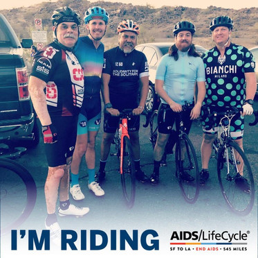 AIDS/LifeCycle 2018