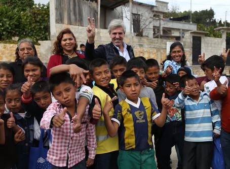 Reafirma colaboración Fundación Emilio Moro con el programa Agua Segura en Escuelas.