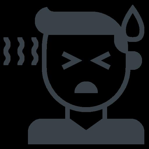 5729676 - covid-19 fever high sick sweat temperature