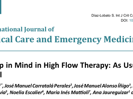 Things to Keep in Mind in High Flow Therapy: As Usual the Devil is in the Detail