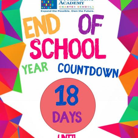 End of School Year Countdown!