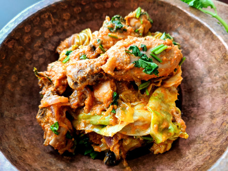 South Indian Chicken Peratal (Dry Curry)