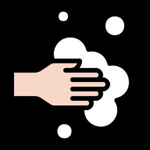 4443531 - bubble clean hand handwashing hygiene wash