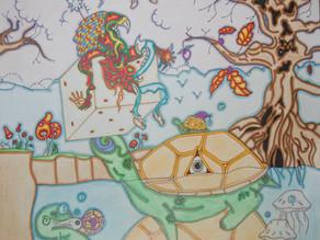Dans le cerveau d'un jeune artiste schizophrène