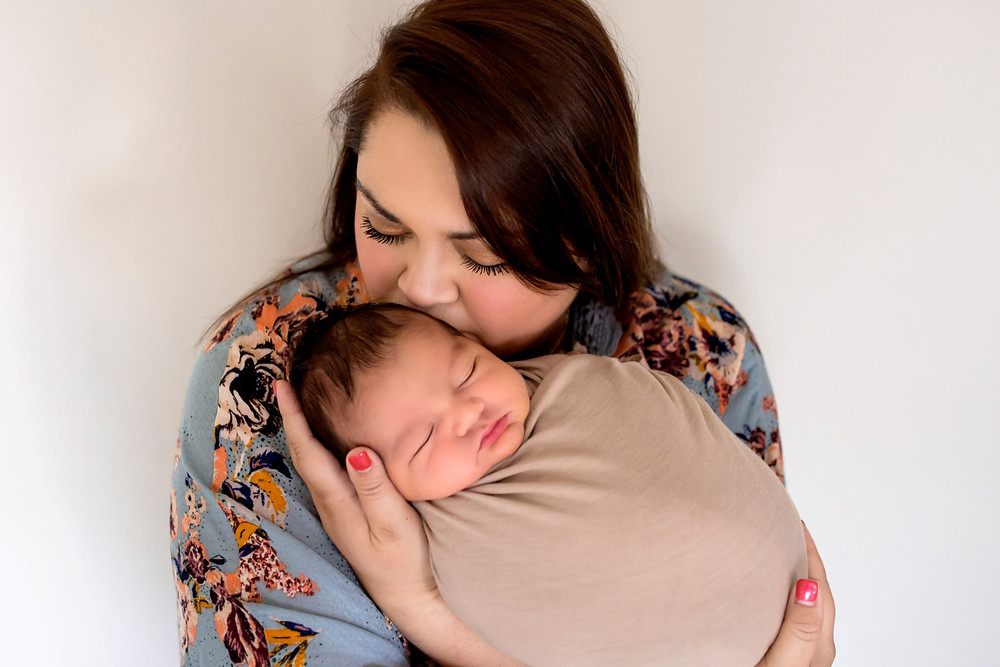 mom baby boy central virginia newborn