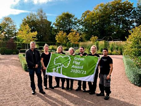 Green Flag Award till Jonsereds Trädgårdar