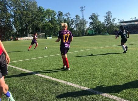 Tre poäng i Åbo i solskenet
