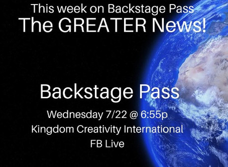 Backstage Pass!