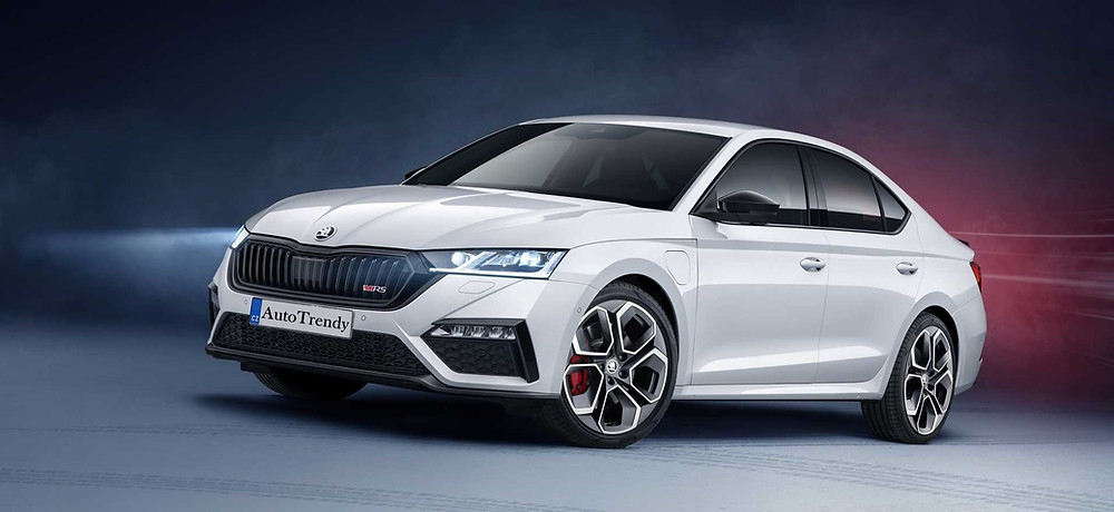 Skoda Octavia RS iV front view,Car, Auto, Automotive news, Trend, Vehicle