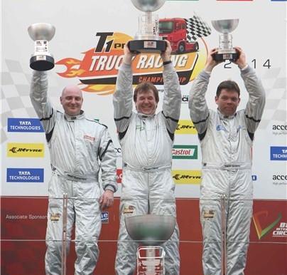 Stuart Oliver wins the debut T1 Prima