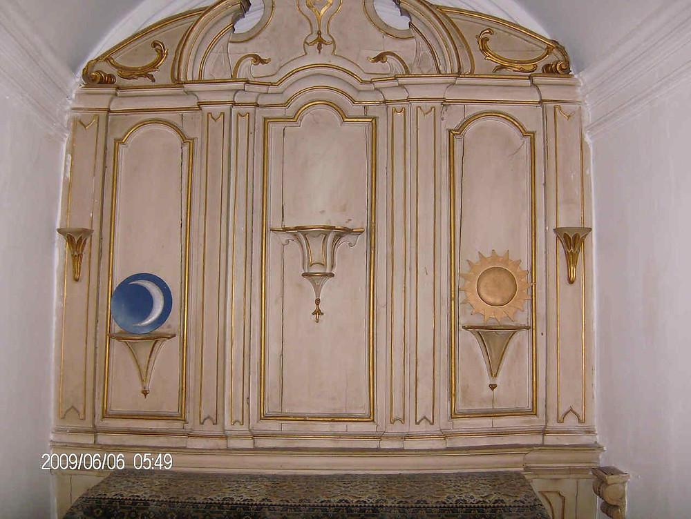 Maçonaria - Capela do antigo palácio maçónico da GLNP