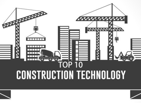 """Top 10 Construction technology trends in 2019"""