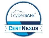 CyberSAFECertified badge