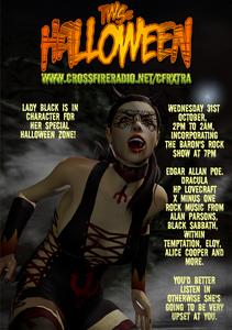 TWS Halloween Promo pic for Crossfire Radio special